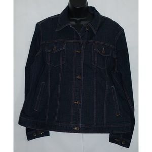 Lauren by Ralph Lauren Denim Jean Jacket Size 2X